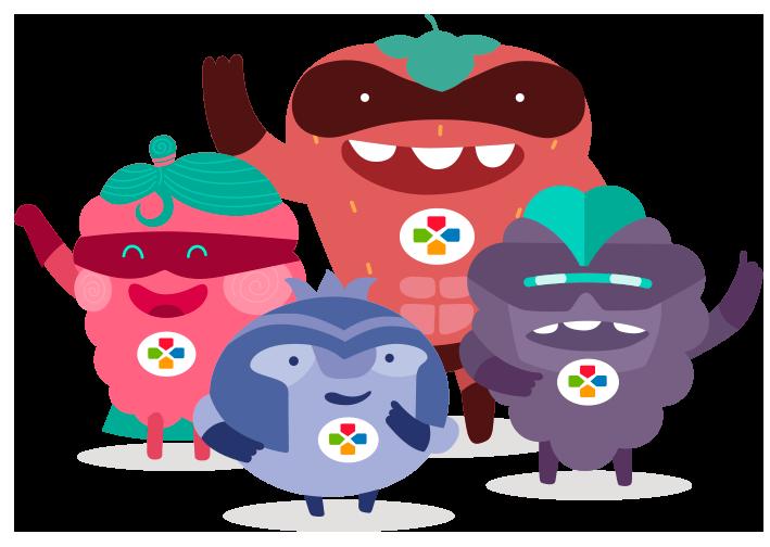 El equipo Plus Berries
