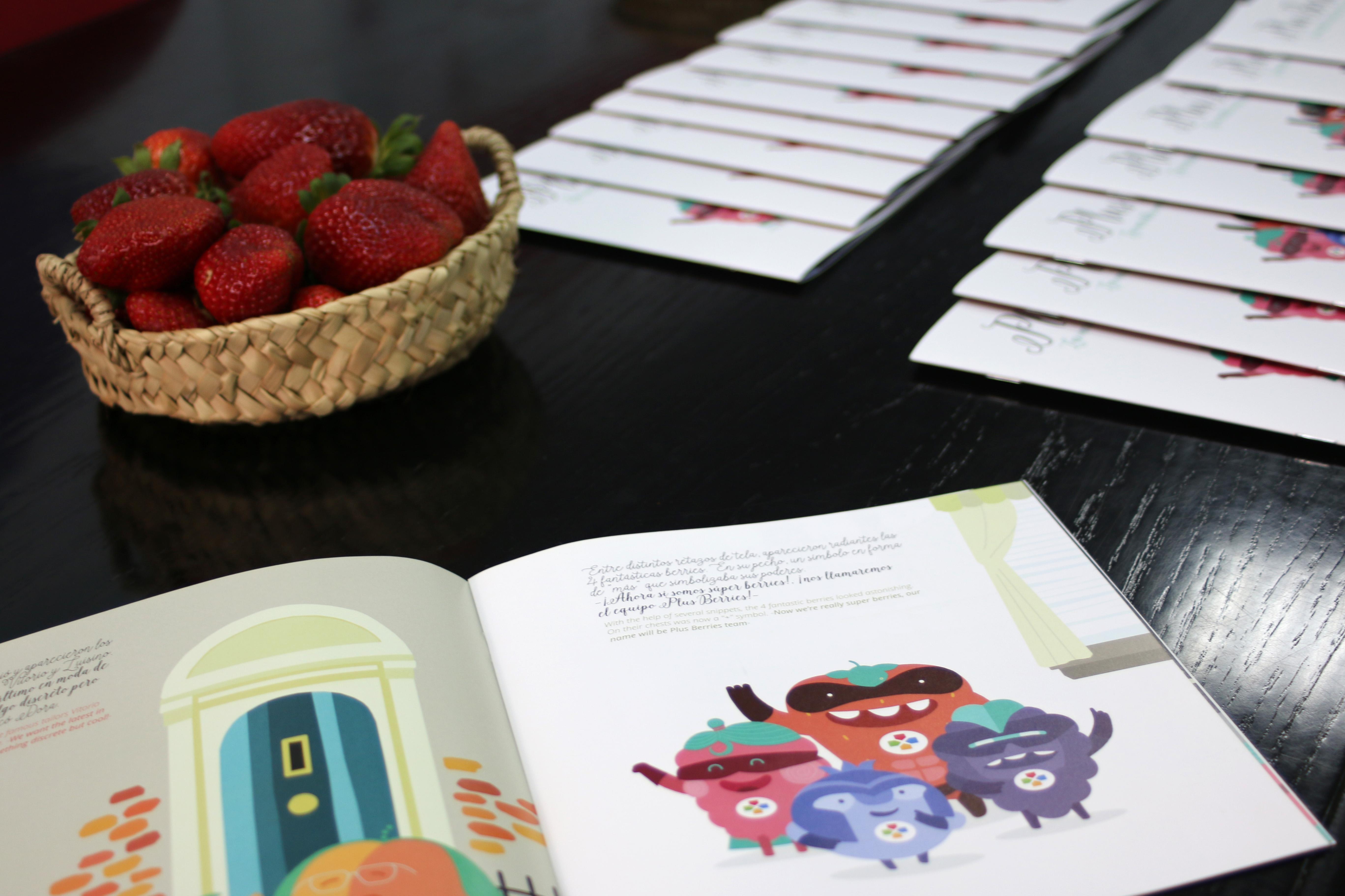 """Presentamos nuestra campaña """"Plus Berries, las increíbles aventuras de las súper berries"""""""